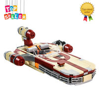 Building Blocks Set Luke's X-34 SoroSuub Landspeeder Toys 300 Pieces Bricks Kids