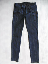 7 Seven for all Mankind skinny aged blue Jeans Hose Gr 34 36 W27/L32 neuw. $470