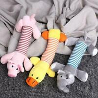 Cute Pet Dog Puppy Chew Toy Squeaker Squeaky Soft Plush 1 Sound Toy Teeth x Q6A0