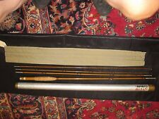 H.L.Leonard Tournament 8' Bamboo Fly Rod  Case & Spare Tip section 3 7/8oz