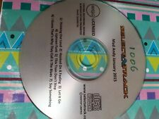 CD+G Customised Karaoke Disc 7 tracks free p&p