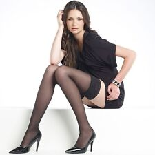 Levante 50 Denier Suede Matte Hold UPS Black Medium