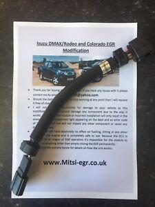 Isuzu Dmax D Max Holden Colorado 2008-2018 2.5L EGR blank Prevent Module