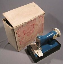 Toy Sewing Machine Stitching Russian Children Child Old Vintage Soviet Metallic