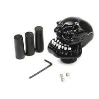 Resin Black Ghost Car Shift Knob Gear Stick Shifter Manual Universal