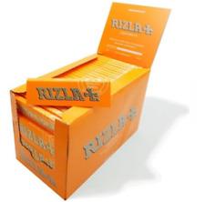 REGULAR ORANGE RIZLA LIQUORICE RIZLA ROLLING PAPER BOOKLETS 20 PACK