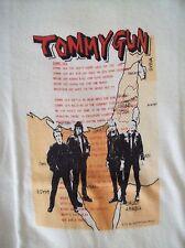 THE CLASH VINTAGE CONCERT TOUR T-SHIRT 1970'S SEX PISTOLS THE DAMNED