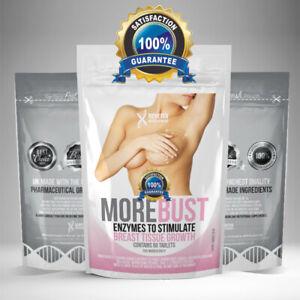 BIGGER BREAST Enlargement Tablets, Estrogen Enzyme Pills Big Bust, Bigger Boobs