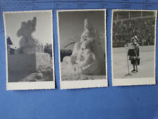 Garmisch-Partenkirchen Wintersportwoche 1950 Programm Fotos Foto AK Konvolut