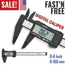 Digital Vernier Caliper Micrometer Electronic Ruler Measuring Gauge Tool Us E