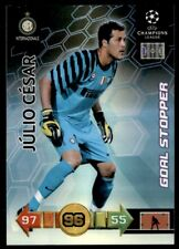 Panini Champions League 2010-2011 Adrenalyn XL Julio Cesar Inter Goal Stopper