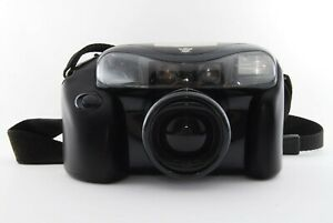 Konica AiBorg Darth Vader 35mm Film Camera 35-105mm Zoom Lens. Fully working 158