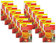 12 x MAGGI Instant Soup Packs Tomato with Noodles Flavor
