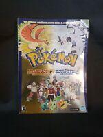 POKÉMON Heart Gold Soul Silver  Johto Guide & Pokédex DS Missing Mini Poster