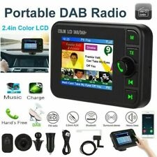 Bluetooth Car DAB DAB+ Radio Receiver LCD Screen FM Transmitter Adapter USB AUX