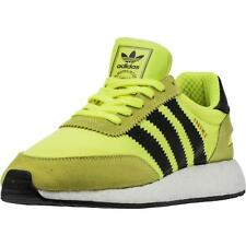 outlet store 222eb ecf28 Adidas Iniki Runner Boost Volt Solar Yellow BB2094 Men Running Shoes US  Size DS