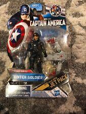 "WINTER SOLDIER Marvel Captain America Comic Series 3.75"" action figure jet pack"