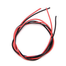New 16 AWG Gauge Wire Flexible Silicone Stranded Copper Cables For RC Black Red