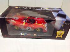 Classico 1:18 Ferrari 312P 1972 Andretti/Pela Diecast Modelo Coche + bomba de combustible