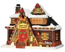 NEW LEMAX VILLAGE COLLECTION SNOW PEAK LODGE #55924