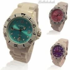 Teen Plastic Band Wristwatches with 12-Hour Dial