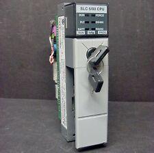 Allen Bradley 1747-L533 Ser E 1747-OS302 FRN 10 SLC 500 5/03 CPU Processor 32K