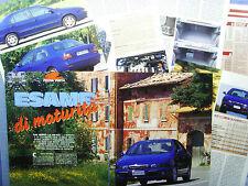 AUTO996-RITAGLIO/CLIPPING/NEWS1996-FIAT MAREA 1.6 16V ELX - 7 fogli