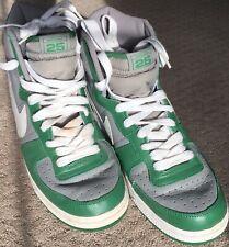 2501b85ae67 2004 NIKE Terminator Hi Boston 25 Retro Vintage Celtics Green Grey SIZE 10.5