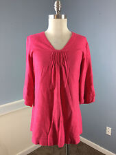 Jigsaw Linen Pink Tunic Top Excellent M career casual *