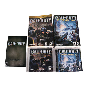 Call Of Duty - United Offensive Expansion Pack PC CD Rom retail Box w/ Serial