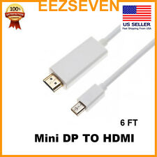 Mini DisplayPort to HDMI Cable Thunderbolt Mini DP male to HDMI male High Speed