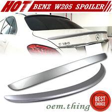 PAINTED MERCEDES BENZ W205 4D Sedan A Trunk & OE Roof Spoiler C250 C63