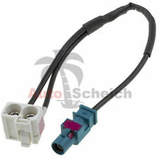 Antenne Diversity Adapter für VW Skoda Seat RNS 510 RCD 510 Fakra Antenne Kabel