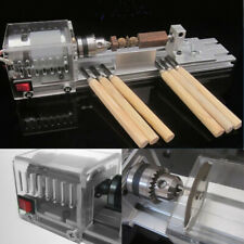 2019 Mini Lathe Machine Fundamental Wood Lathe Polisher Table Miniature DIY Mini