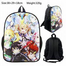 Sword Art Online Anime Rucksacke Sac Back Pack Bag 38x29x18cm PU Toile Neuf