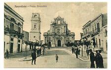 CARTOLINA SPACCAFORNO (ISPICA) - PIAZZA ANNUNZIATA - ANIMATA - VG 1934