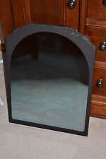 "Avalon ""Hideaway"" Gas Insert Fireplace Glass & Frame Arch Top 18 x 23.5"" Mirror"