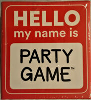 Hello My Name Is Party Game By Ceaco - New