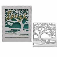 Tree Hillside Cutting Dies Scrapbook Card Album Embossing Metal Stencil Border
