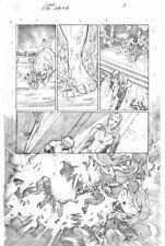 Diego Bernard LADY DEATH: BLASPHEMY ANTHEM Page 1 Original Art