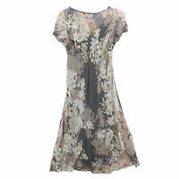 Fenn Wright Manson Women's Midi Dress 16 Tan, Blend - silk