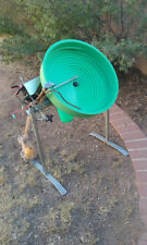 Green Screw Gold refineing mine equipment refine minerals panning 12 volt motor