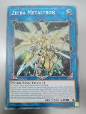 Zefra Metaltron EXFO-IT097 Super Rara   MINT YUGIOH!