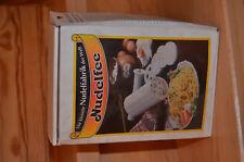 Nudelmaschine Nudelfee, weiß, Kunststoff, mit OVP, sehr gut, praktisch, s. Fotos
