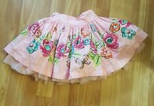 Children's place 24 month girl skirt, fluffy skirt pink with flowers