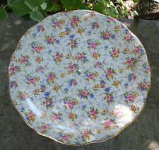 "ROYAL WINTON CHINTZ - Vintage Eleanor 8"" Athena Shape Cake Stand"