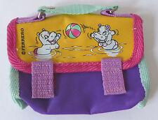 Ferrero Ü-Ei Maxi-Ei Kinderfreude Happy Hippos Tasche Gürteltasche Börse 1997!