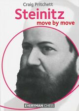 Steinitz - Move by Move (Chess Book)