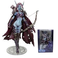 World Of Warcraft Windrunner Sylvanas Action Figure Forsaken Queen Model Toy US
