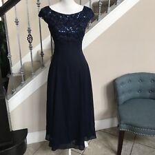scott mcclintock Formal Modest Homecoming Short Sleeves Flattering Dress Sz 4
